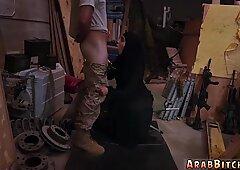 Muslim gilf sucking soldiers dick