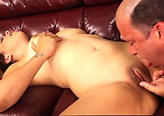 Sabrina Taylor Fucked By Older Cock