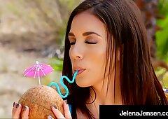 Hot Hawaii! Penthouse Pet Jelena Jensen Rubs It In The Sun!