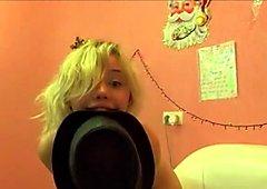 Blonde Sexy Teen Webcam Dancing