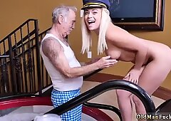 Old skinny granny Age ain t nothing but a number! - Kenzie Green