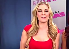 WWE Renee Young jerk off challenge
