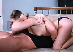 Hot conversation with beautiful brunette Kristina Rose