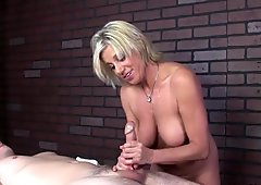 Awesome dominant handjob