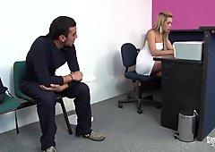 Santa Latina - Naughty Colombian Blonde Babe Eats Cum In Wild Latina Fuck Session