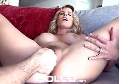 Virgin boy anal fucks busty mom Cory Chase