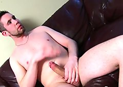 Sexy Straight Bentley Jerking Off His Prick