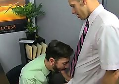 Nude men The hunky youthful jock gets his shaft serviced by the