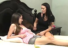 Hottest Shaved scene with Lesbian,Brunette scenes