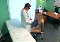 FakeHospital - Skinny blonde swaps sexual act
