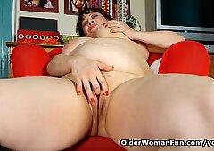 Black nylons give mom the highest level of horniness