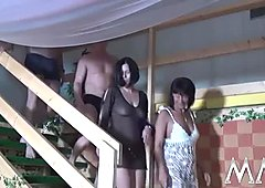 MMV FILMS Amateur German Orgy Party