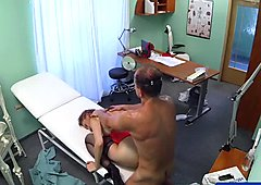 FakeHospital Doctor cures sexy patient with sex