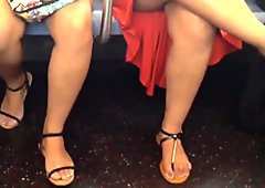 Thick Candid Legs