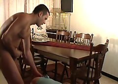 Bored housewife gets creampied