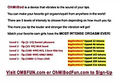 Perfect Body Getting Turned On By Your OMBFUN VIBE Commands PLAY TODAY