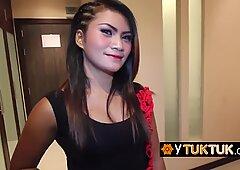POV pussy fucking for Thai prostitute