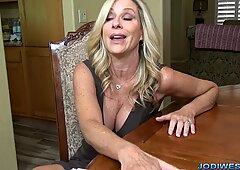 Jodi West wank Stepson to help with probes!