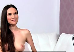 FemaleAgent Sexy roleplay as pretty MILF punishes naughty agent