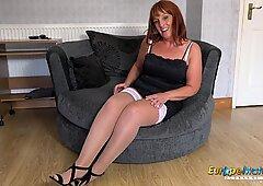 EuropeMaturE Beau Diamond Sexy Mature Solo Showoff
