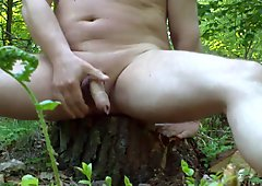cum in forest 2