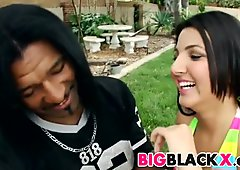 Big black cock for hot persian girl Zarreena