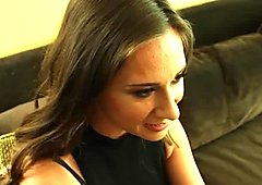 Office brunette secretary gets to know her boss real good