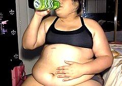 Chubby Water Bloat teen