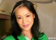 Asian mature lady gives a masterclass of killer sex to her boyfriend.