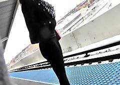 Sexy spandex ass