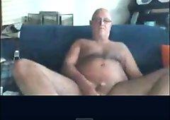 grandpa wanking