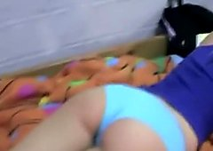 Amy licking her best girlfriends ass