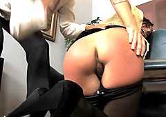 spanked by her boss