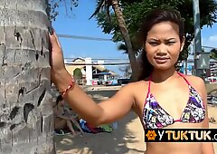 Picking up 2 thais on the beach and let them do whatever I want