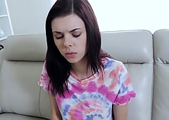 Alternative stepsister is for real her stepbrother'_s bitch