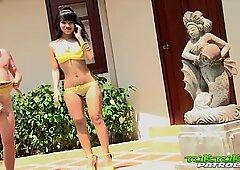 TUKTUKPATROL Thai Teen Doll Pounded by Big Dick Poolside