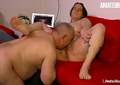 AmateurEuro - Dirty Sex Tape With A Horny Mature Housewife