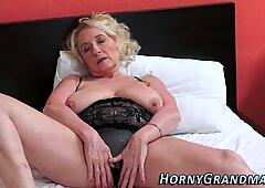 Granny whore fingered