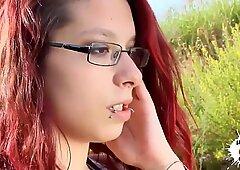 LECHE 69 Skanky amateur redhead Teen