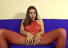 Lelu Love-Bodystocking Tease Fingering JOE