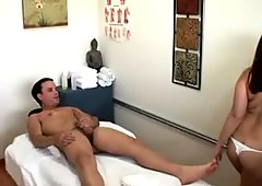 Masseuse Gives Special Masseuse