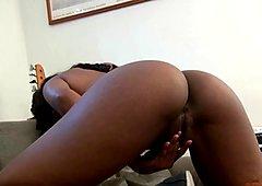 Nova Star masturbating her sexy black pussy