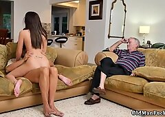 Hot milf young cock first time Riding the Old Wood!