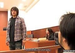 Japanese tart Hikaru Matsu loves group sex