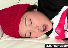Reality Kings - Alina Li- Small Asian teens wants big white cock