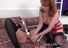 2 UK MILFs share toys and orgasms