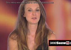 Vibrators and dildos during a steamy swinger orgy with amazing amateur couples.