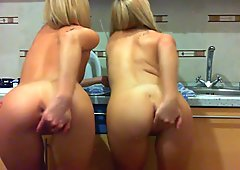 Lana & Olga Ass Play