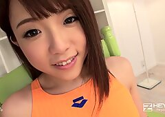 Jav sexy doll makes fujob to an adult uncle.