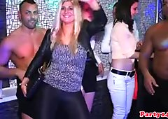 Euro amateur party skanks wanking cock